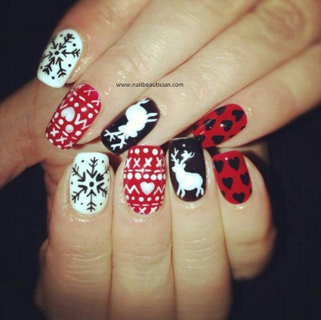 Nail Beautician: 10 Best Nail Art Ideas for Christmas 2017