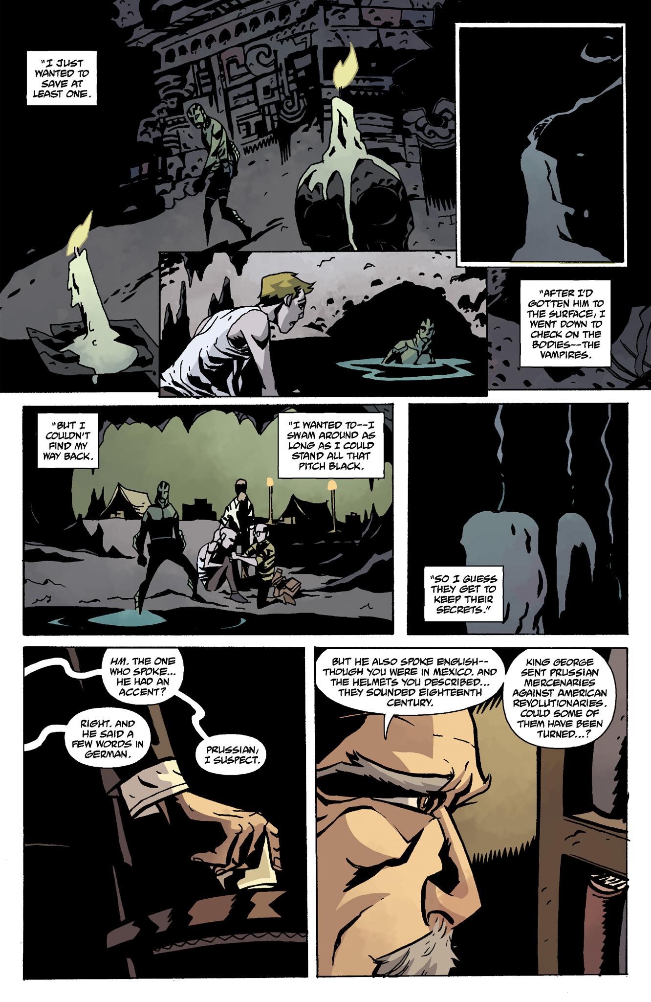Read online Abe Sapien comic -  Issue #8 - 23