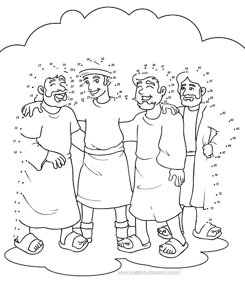 Obey Coloring Page Daniel And Friends Coloring Pages