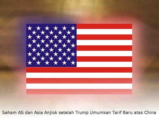Saham AS dan Asia Anjlok setelah Trump Umumkan Tarif Baru atas China