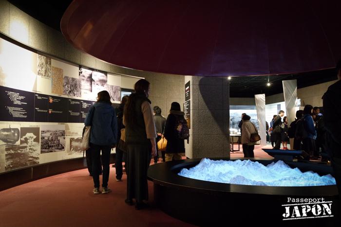 Muséographie, musée de la bombe atomique, Nagasaki