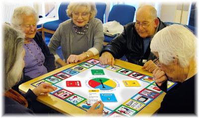 Ludoteca itinerante para adultos y personas mayores