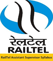 RailTel Assistant Supervisor Syllabus