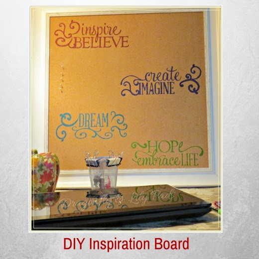 DIY Stencil Inspiration Board, Mod Podge Pumpkin, DIY Dollar Store Butterfly Design Clips