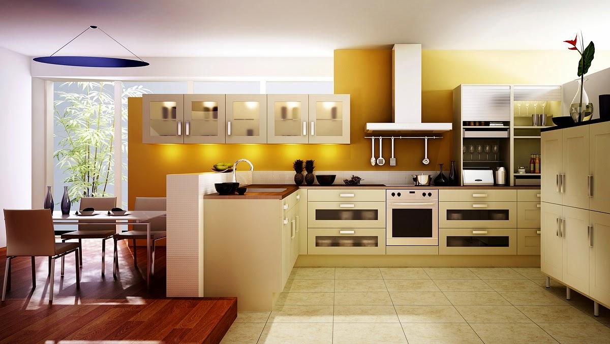 Desain Atap Genteng Dan Ruang Tamu Serta Dapur  Rumah