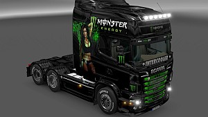 Scania RJL Monster Energy