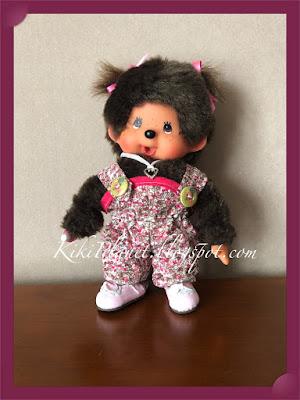 kiki monchhichi poupée doll couture vêtement combinaison jumpsuithandmade fait main sewing