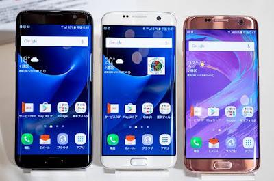Samsung s7 edge scv33 au kddi nhật bản được ưa chuộng