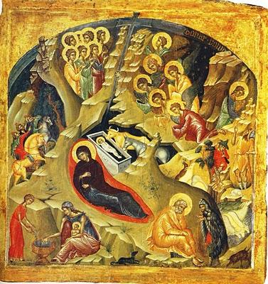 Χριστός γεννάται! Καλή Ανάσταση!