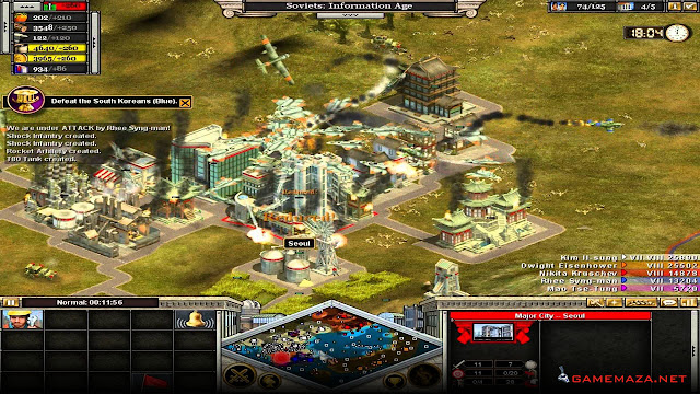 Rise of Nations Gold Edition Gameplay Screenshot 2