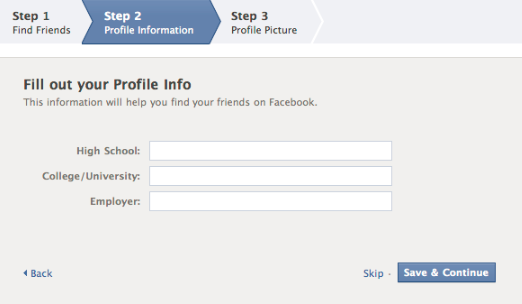 Creating A Facebook Account