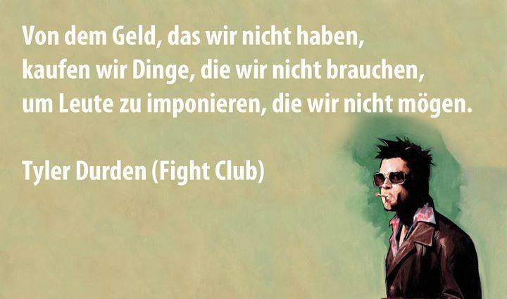 fight club idézetek Német szlengek, szólások, közmondások, idézetek   németül és