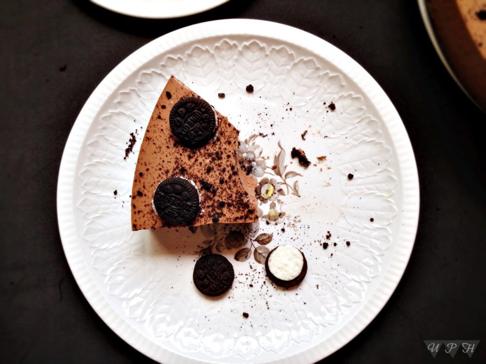 Tarta queso- Nutella -Oreo