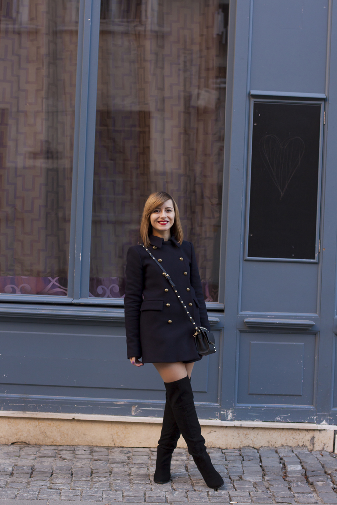 chic winter look