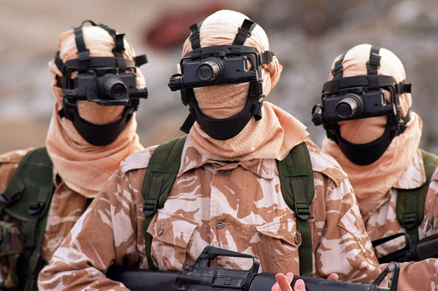 Special Air Service (The SAS) - British Special Forces