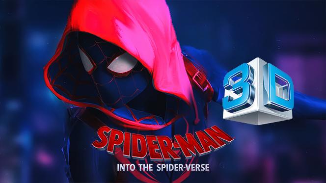 Spider-Man: Un nuevo universo (2018) 3D SBS Full 1080p Latino-Castellano-Ingles