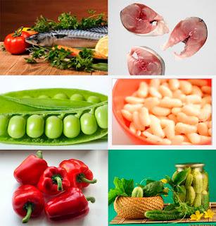 ingredientes para la conserva de caballa