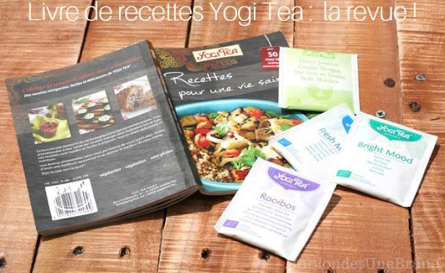 Un blond une brune livre de recette yogi tea for Livre sur le minimalisme