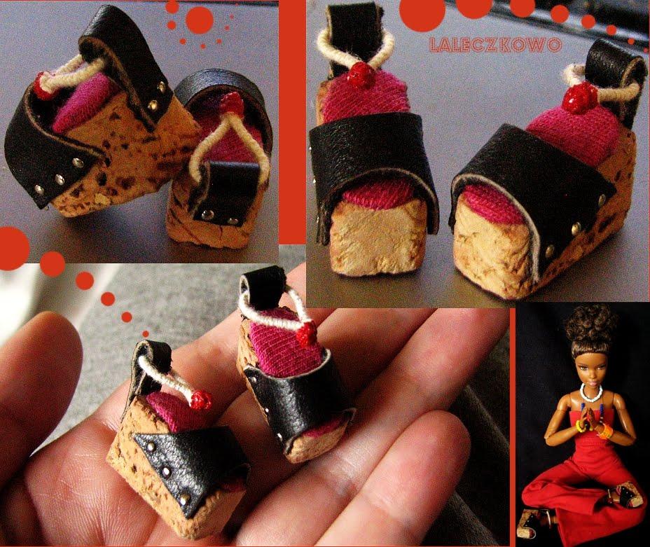 bfc269ab8ecfc Buty na koturnie dla lalki Barbie - pomysł na platformy w stylu lat 70:)