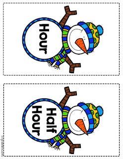 Snowman time header cards