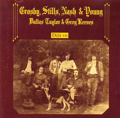 Crosby, Stills, Nash & Young. Déjà Vu