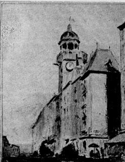 Riom puy de Dôme, la tour de l'horloge