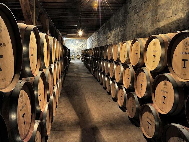 História da Vinícola de Santa Rita em Santiago do Chile