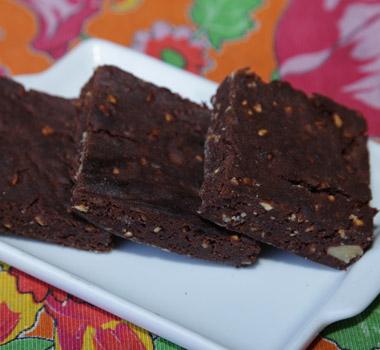 Receita de Brownie com Chocolate Confeitare