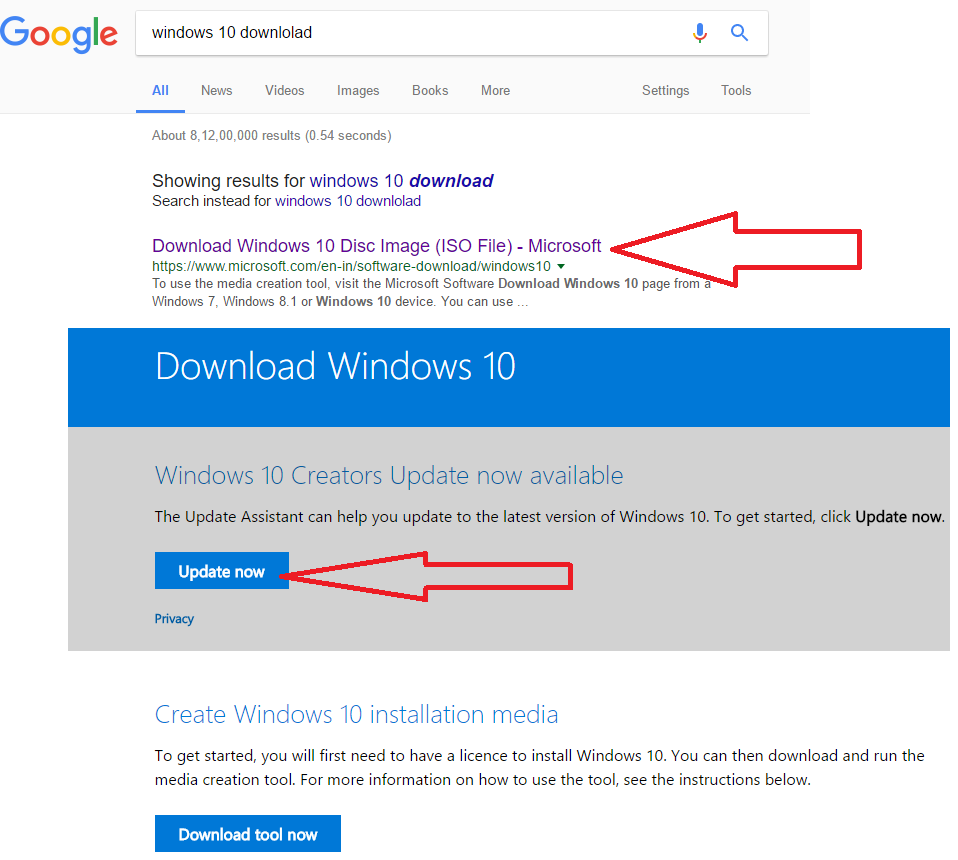 Learn New Things: How to Download & Upgrade Windows 10 Creators