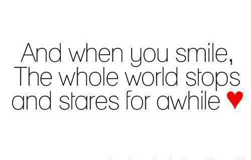 Cute Quotes About Smiling And Love: Cute Quotes About Smiling. QuotesGram