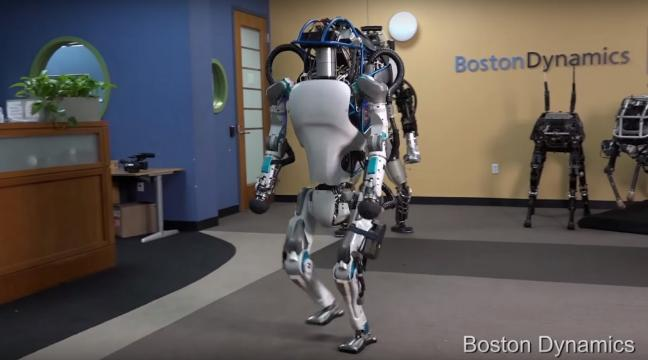 La nuova versione del robot Atlas