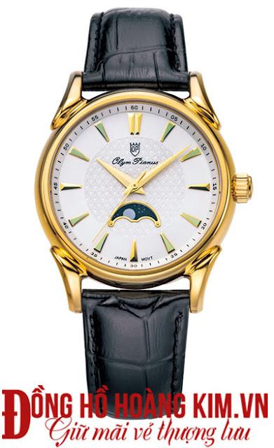 Đồng hồ dây da nam Olym pianus bán chạy nhất 2016