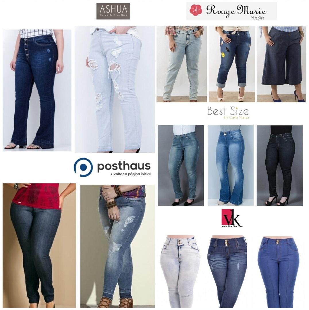47734c5fa Hoje no blog preparei uma lista de onde comprar calça jeans plus size  online! Sei muito bem como é difícil achar uma que fique ideal no nosso  corpo!