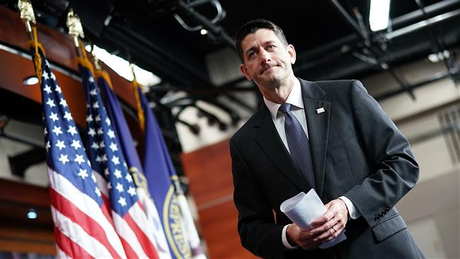 US House of Representatives Speaker Paul Ryan supports swift action on Iran, Russia sanctions