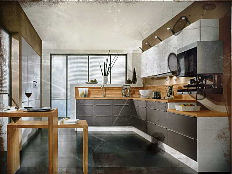 Design Kabinet Dapur L