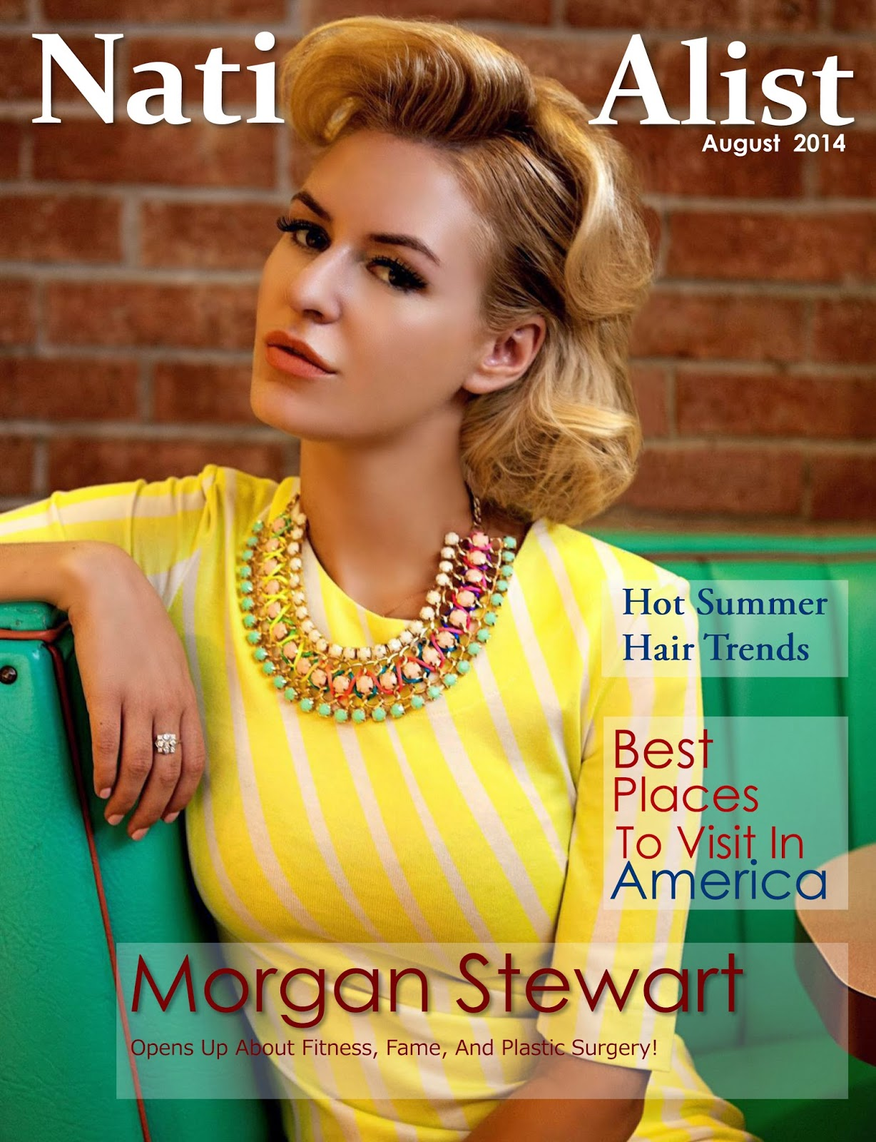 Morgan Stewart by PhotoShoot for Nationalist Magazine, August 2014