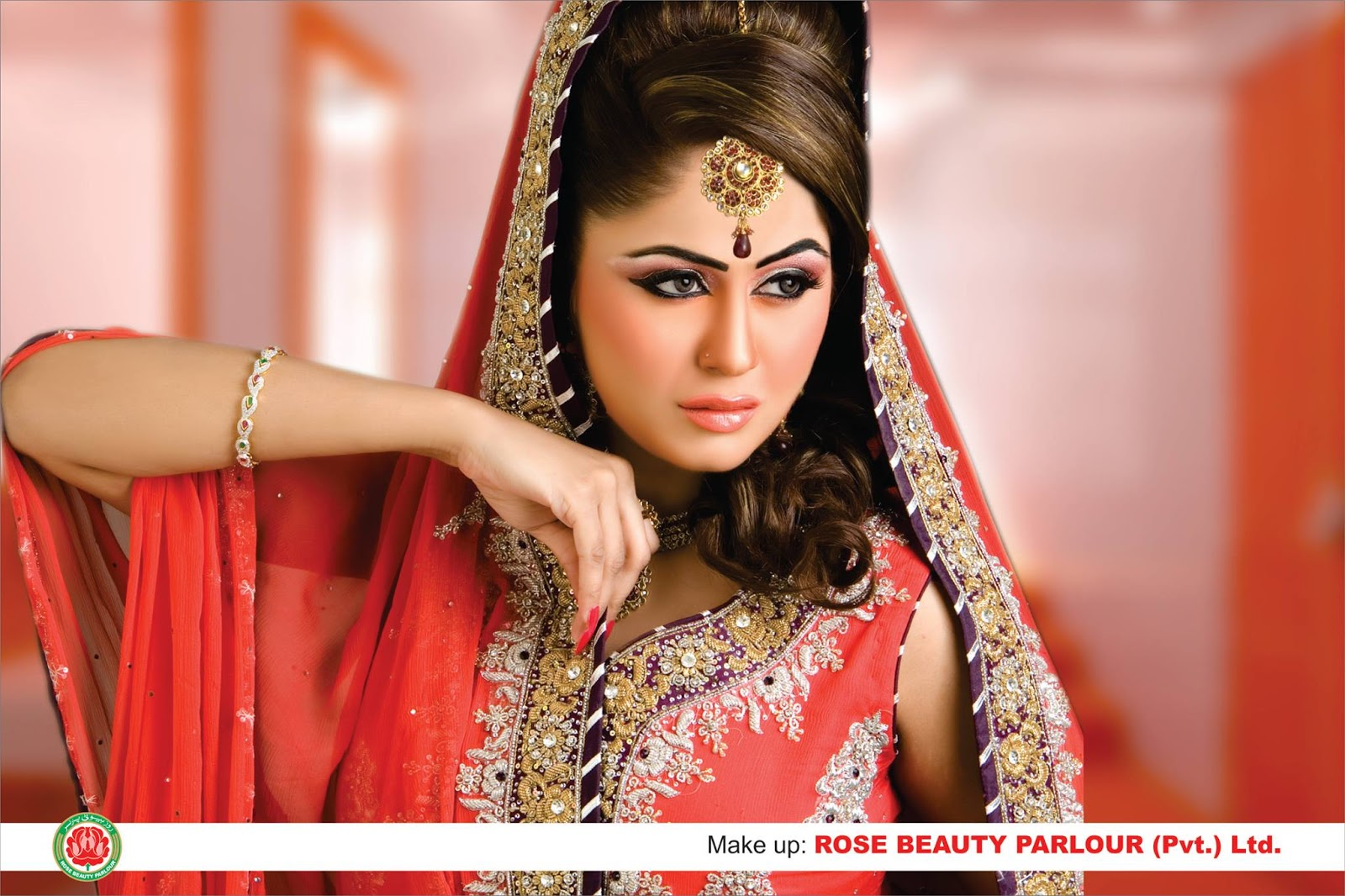 Rose Beauty Parlor Dulhan Make over