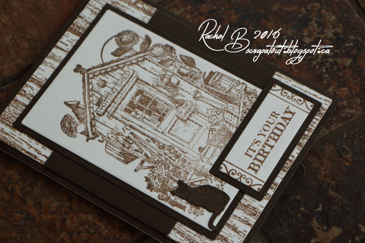 Scrapatout - Handmade card, Birthday, Impression Obsession stamps and dies, Hero Arts stamp