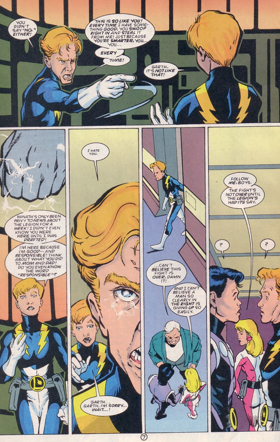 Legion of Super-Heroes (1989) 64 Page 7