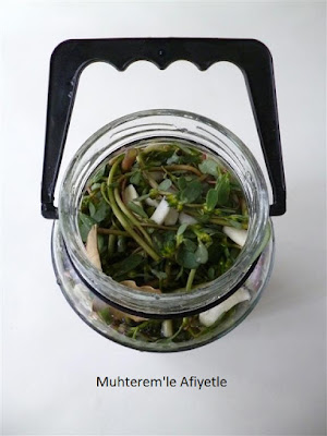 purslane pickle
