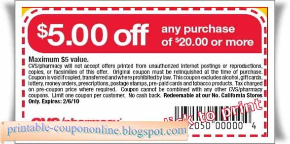 Cvs pharmacy coupons for prescriptions