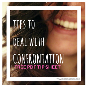 Tips to deal with confrontation free pdf
