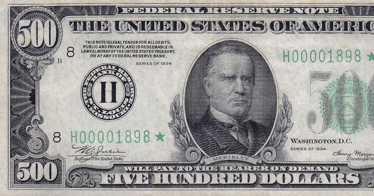 dollar bill schein rare things hundred five valuable 1000 saving money incredibly number