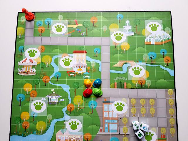 Lisek Urwisek - Nasza Księgarnia - gra planszowa - planszówki - dla dzieci - gra kooperacyjna  - gra detektywistyczna