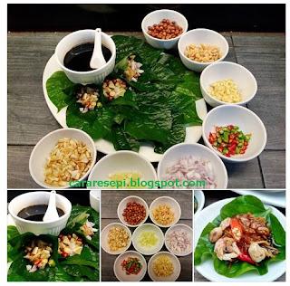 Resepi Miang Kham Thailand
