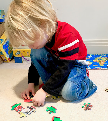 Puzzle time fun