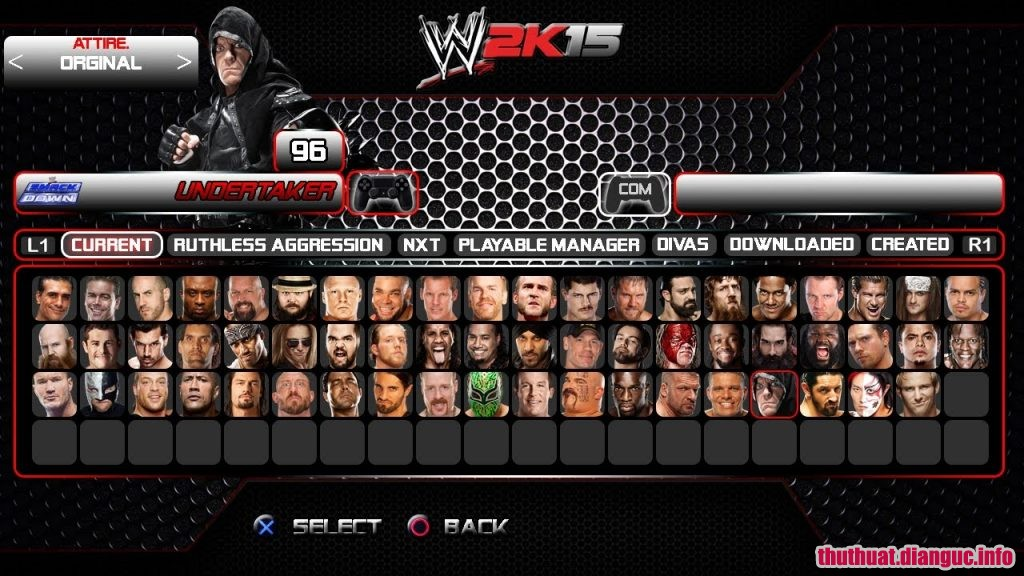 Tải game WWE 2K15 full crack miễn phí, cấu hình wwe 2k15, WWE 2K15 , WWE 2K15 free download,