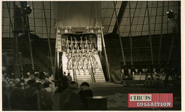 spectacle Les danseuses de la cour princière cirque Knie