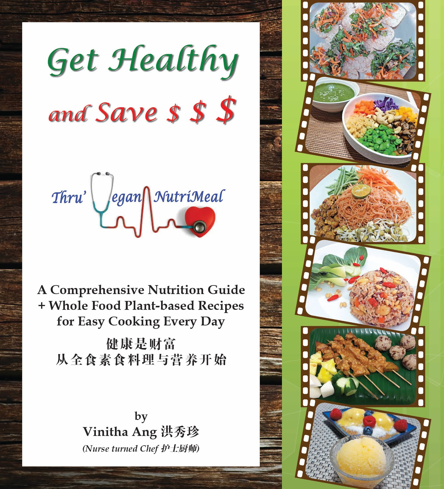 Get Healthy and Save $$$ thru Vegan NutriMeal - Front Cover