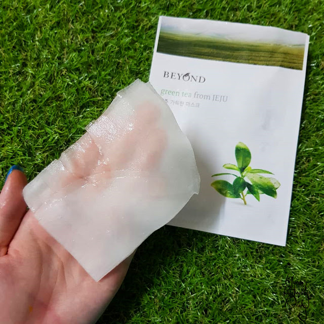 Review; Beyond's Green Tea from JEJU + First Impression